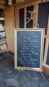 The farm-to-table menu at Red Rabbit Farms